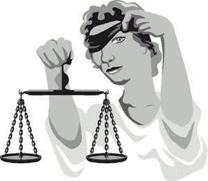 A justiça é cega, mas o juiz não é